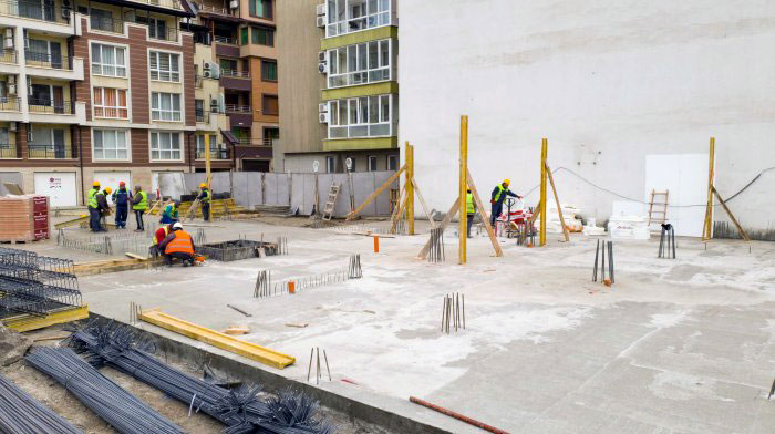 """Приключи етап кота 0 от строежа на жилищна сграда """"Свети Димитър"""""""